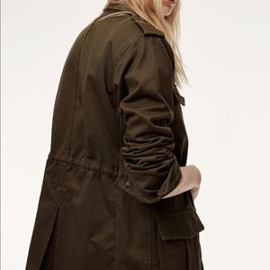 Aritzia Talula Utility Jacket in Black